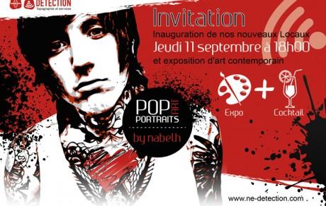 Invitation événementiel