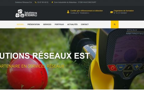 Site vitrine (WordPress)